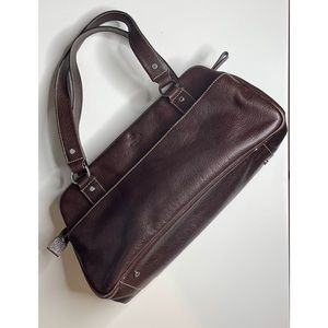 Authentic kate spade Brown leather bag